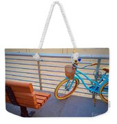 Long Beach Cruiser Weekender Tote Bag