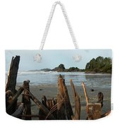 Long Beach, Tofino Weekender Tote Bag