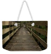 Long Boardwalk Through The Wetlands Weekender Tote Bag