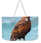 Long Crested Eagle Weekender Tote Bag
