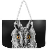 Long Eared Owl 2 Weekender Tote Bag