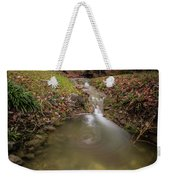 Long Exposure Picture Of Waterfall Weekender Tote Bag