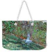 Long Exposure Waterfall Weekender Tote Bag