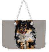 Long Haired Chihuahua  Weekender Tote Bag