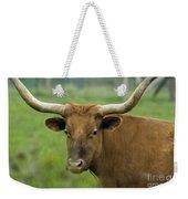 Long Horn Cow Weekender Tote Bag