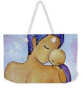 Long Impasto Motherhood Vertical Painting  Weekender Tote Bag