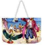 Long John Silver And His Parrot Weekender Tote Bag