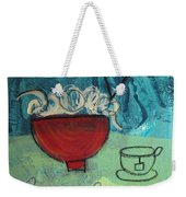 Long Life Noodles Weekender Tote Bag