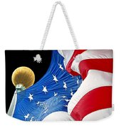 Long May She Wave The American Flag Weekender Tote Bag