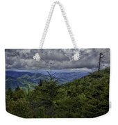 Long Misty Days Weekender Tote Bag