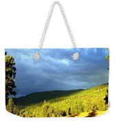 Long Shadows Weekender Tote Bag