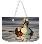 Long Tail Duck Weekender Tote Bag