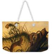 Long - Tailed Weasel Weekender Tote Bag
