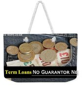 Long Term Loans For Bad Credit People With No Guarantor Needed Weekender Tote Bag