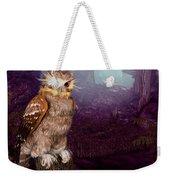 Long Whisker Owl Weekender Tote Bag