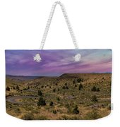 Long Winding Road In Central Oregon Weekender Tote Bag