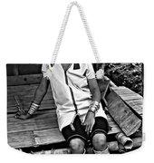 Longneck Beauty Bw Weekender Tote Bag