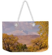 Longs Peak Diamond Autumn Shadow Weekender Tote Bag