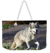 Lonly Wolf Weekender Tote Bag