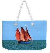 Looe Lugger 'our Daddy' Weekender Tote Bag
