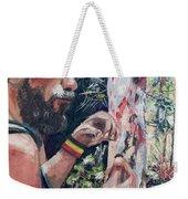 Look Into Another Dimension Weekender Tote Bag