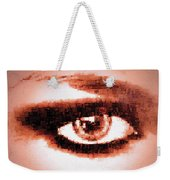 Look Into My Eye Weekender Tote Bag