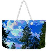 Look Into The Future Weekender Tote Bag