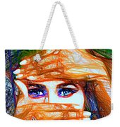 Look Out Of The Box Weekender Tote Bag