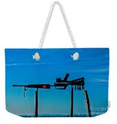 Look Up To The Sky For Rescue Weekender Tote Bag