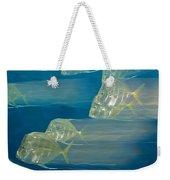 Lookdown Fish Selene Sp. In Motion Weekender Tote Bag
