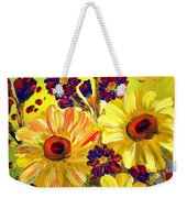 Looking At Sun  Weekender Tote Bag