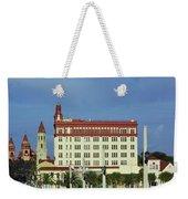 Looking Back At St Augustine Weekender Tote Bag