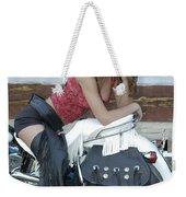 Looking Back On Life Weekender Tote Bag