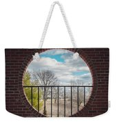 Looking Brick Weekender Tote Bag