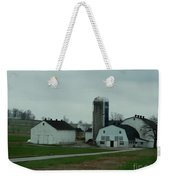 Looking Down An Amish Lane Weekender Tote Bag