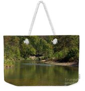 Looking Down Bryant Creek Weekender Tote Bag