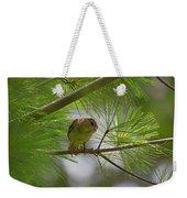 Looking Down - Common Sparrow - Passer Domesticus Weekender Tote Bag