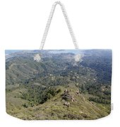 Looking Down From The Top Of Mount Tamalpais Weekender Tote Bag
