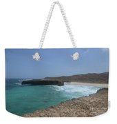 Looking Down On Boca Keto From A Lava Rock Ledge Weekender Tote Bag