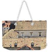 Looking Down On Old Dubrovnik Weekender Tote Bag