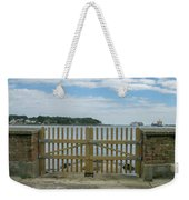 Looking From Brownsea Towards Sandbanks And Shell Bay Weekender Tote Bag