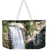 Looking Glass Falls Nc Weekender Tote Bag