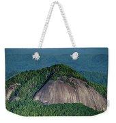 Looking Glass Rock Mountain In North Carolina Weekender Tote Bag