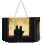 Looking In Looking Out Mini Weekender Tote Bag