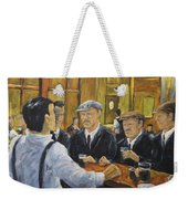Looking In The Pub Weekender Tote Bag