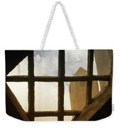 Looking Out From The Mercer Museum Weekender Tote Bag