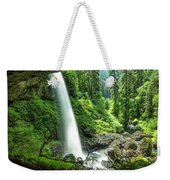 Looking Out From Under North Falls Weekender Tote Bag