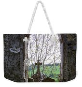 Looking Out Fuerty Church Roscommon Ireland Weekender Tote Bag