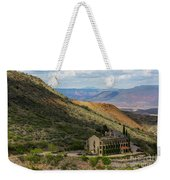 Looking Out Over The Hills Weekender Tote Bag