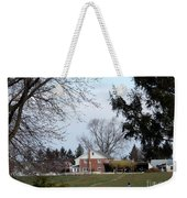 Looking Out Over The Horse Farm Weekender Tote Bag